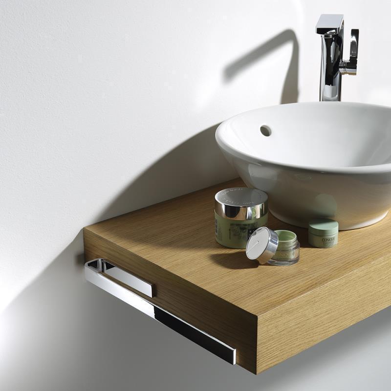 Avenarius Sign Badmöbel Handtuchhalter1 teilig zu Waschtischplatte 33 oder 39 cm