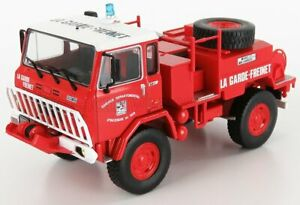 EDICOLA 1/43 IVECO FIAT   75PC - TANKER TRUCK - FIRE FIGHTING FOREST - FRANCE...