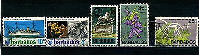 441494 & 495 1970 To 1974 Used Hot Sale 50-70% OFF Disciplined Barbados Sg 399 440