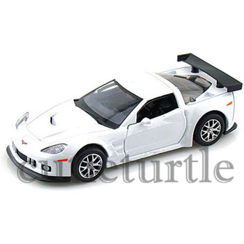 "RMZ City 5/"" 2009 Chevrolet Corvette C6 R Diecast Toy Car 1:32 555003 White"