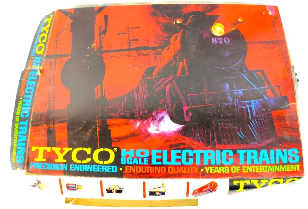 Vintage Tyco HO Scale Electric Trains Precision Engineerosso