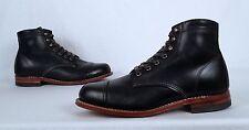 Wolverine '1000 Mile' Cap Toe Boot- Black- Size 7.5 D  (C25)