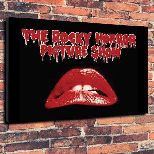 The Rocky Horror Picture Show Imprimé Photo sur toile plusieurs tailles 30 mm de profondeur...