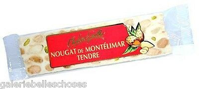2x50g Riegel Nougat de Montélimar Tendre weich Frankreich Chabert&Guillot