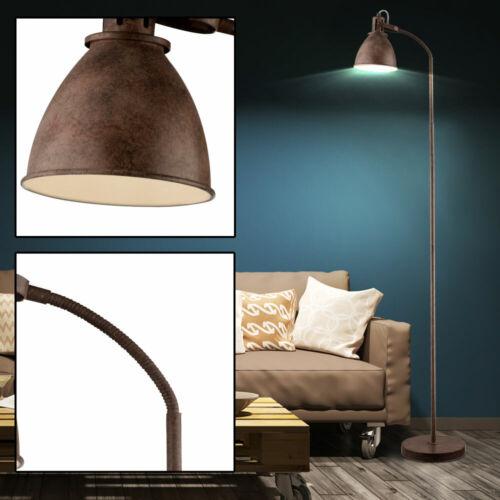 Landhaus Stil Steh Stand Lampe Strahler schwenkbar Wohn Ess Zimmer Beleuchtung