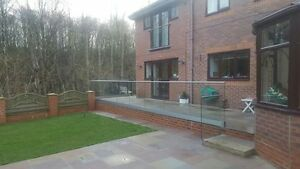 Image Is Loading Frameless Glass Balustrade System Gardens Decking Outdoor  Patio