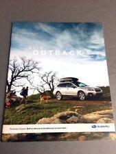 2011 Subaru Impreza 36-PAGE Original Car Sales Brochure Outback Sport
