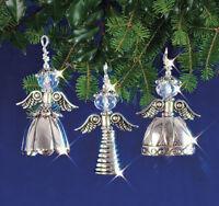 Solid Oak Vintage Angels Beaded Ornament Kit on Sale