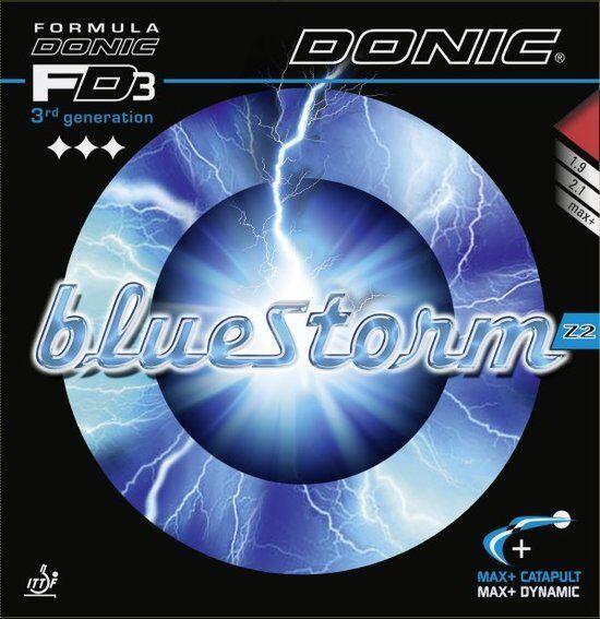 Donic Blaustorm Blaustorm Blaustorm Z2  Tischtennisbelag Belag Noppen innen Tischtennisbelag c63a6d