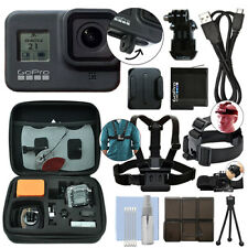 GoPro HERO8 Black 12 MP Waterproof 4K Camera Camcorder + Ultimate Action Bundle