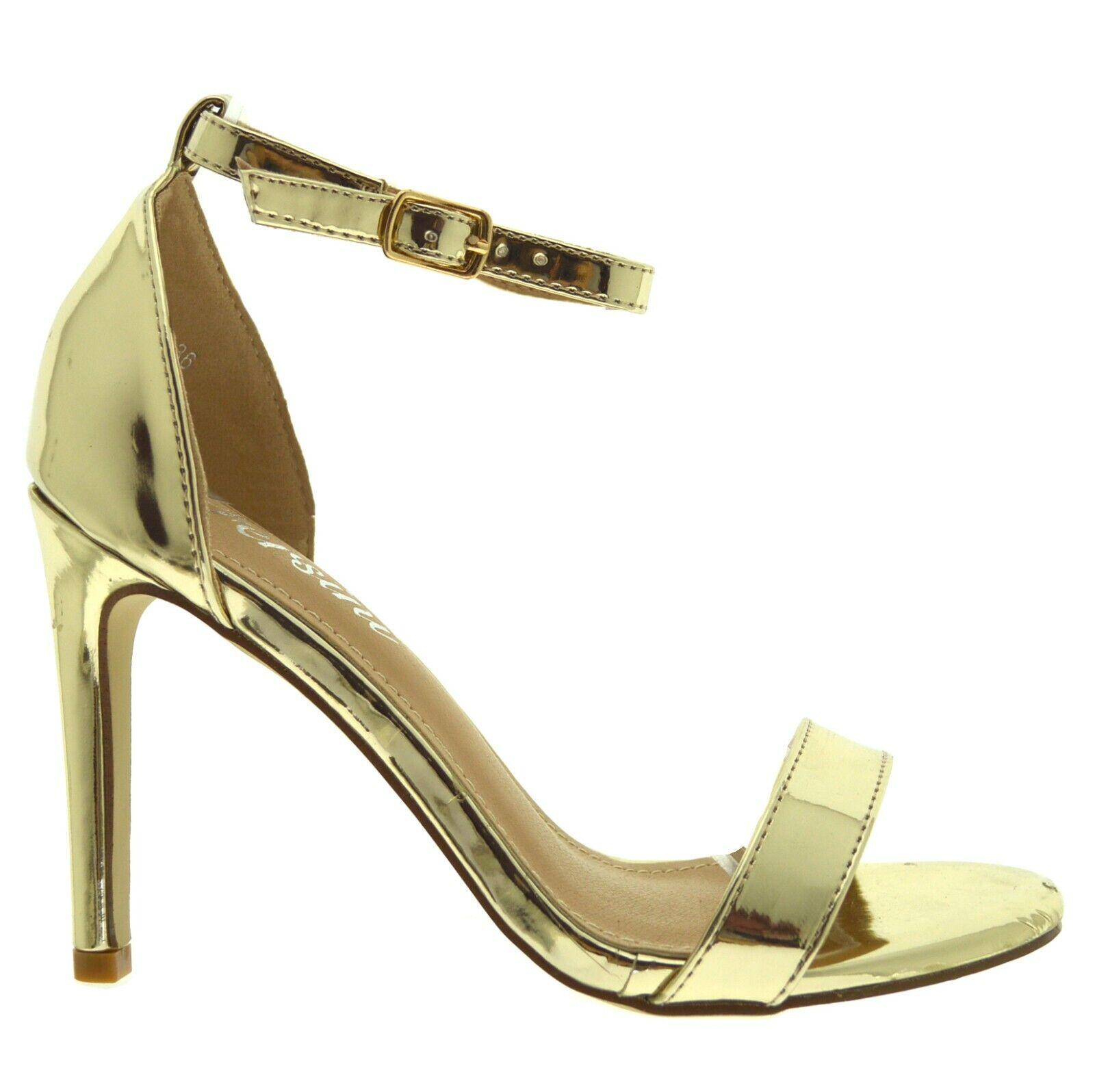Scarpe donna eleganti decoltè con tacchi alti spillo sandali