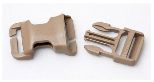 Black Coyote Brown Foliage TAN 2 Pack ITW QASM Quick Attach Buckle for MOLLE