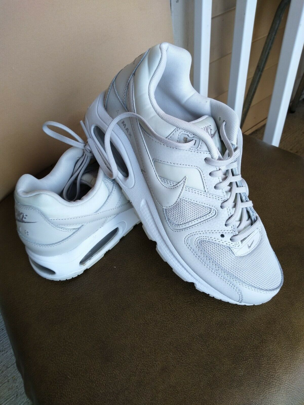 Womens Nike Air Max Command 397690 018 Light Bone Size 6.5