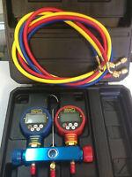 Multi Function Digital Manifold Gauge Refrigerant R410a R22 R134a R404 Wk-6882