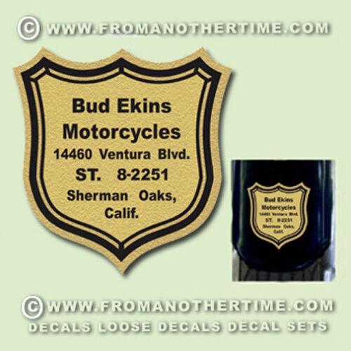 RESTORERS DECALS More M//c Dealer Decals Historic Motorcycle Suppliers Decals