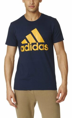 6 Colors adidas Men/'s Badge of Sport Graphic Tee