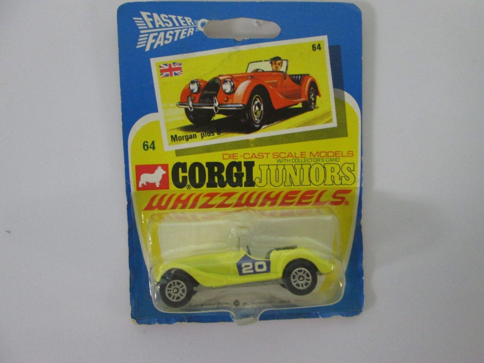 Vintage Corgi Juniors WhizzWheels Morgan Plus 8