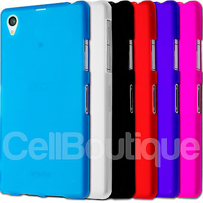 Soft TPU Slim Case Skin Cover For Sony Xperia Z1 Compact Z2 Z3 FREE Screen Film