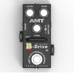 AMT-Electronics-B-Drive-MINI-BD-2-JFET-distortion-pedal-emulates-Bogner
