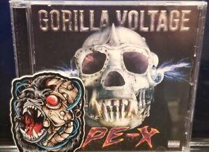 Gorilla Voltage - APE-X CD w/ Sticker twiztid d12 madchild swollen members blaze