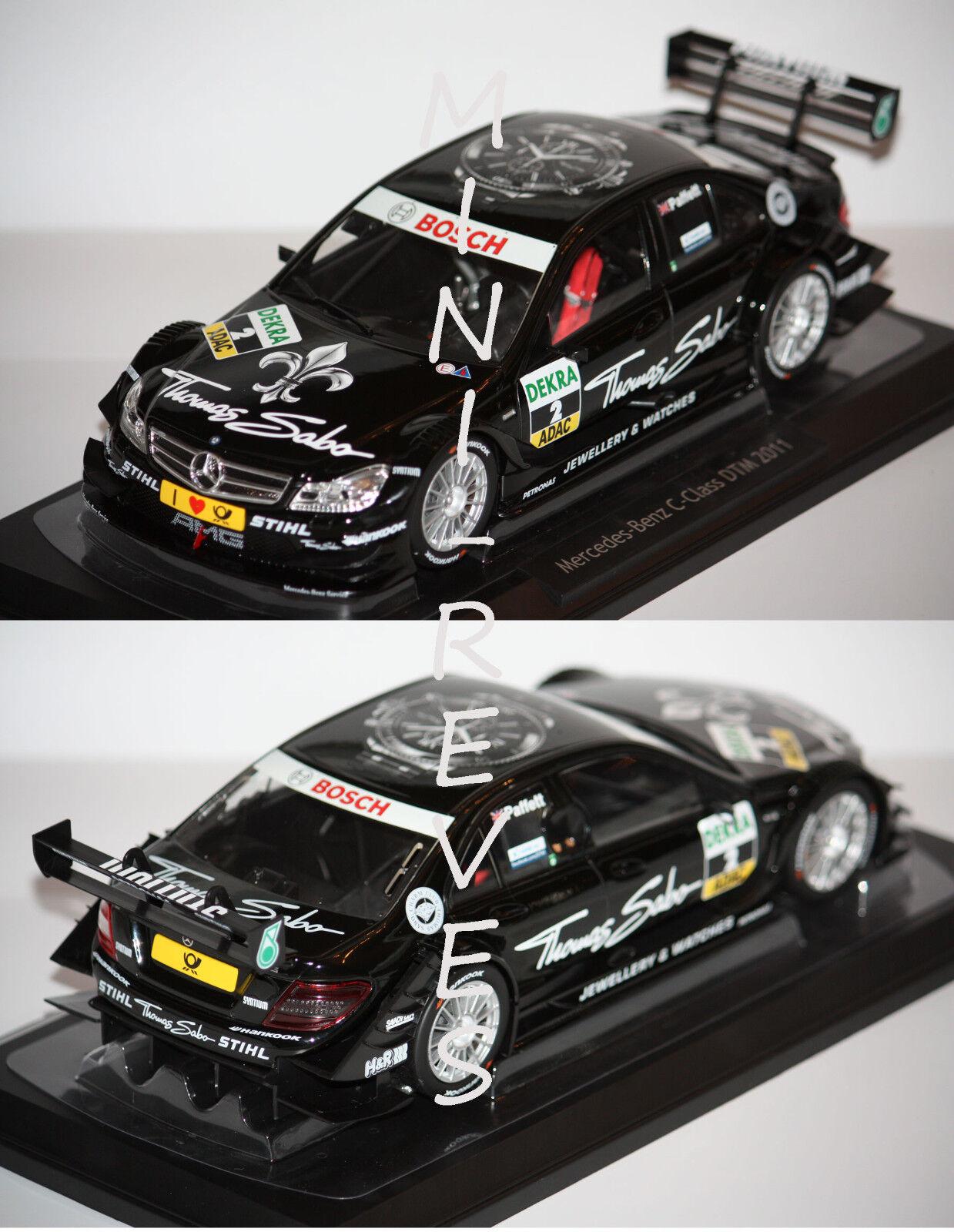 Norev Mercedes Benz C-Class DTM  2011 G. Paffett 1 18 183584 1