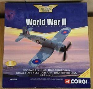 Corgi-AA33003-Corsair-I-JT172-RNFAA-Brunswick-USA-Ltd-Edition-No-0005-of-4000