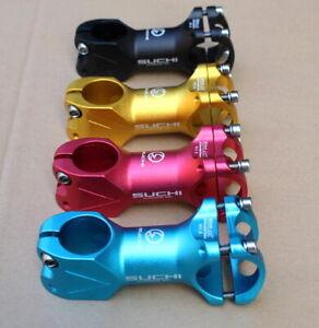 SUCHI Aluminium Cycling Mountain Road Bicycle 7 Degree 80mm 31.8mm Stem