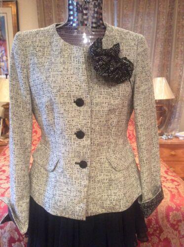 2die4 Absolutely Armani Jacket White Gorge Cotton Collezioni Elegant Blend black ZBq67