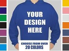 12 Custom Screen Printed Hooded Sweatshirts - Hoodies