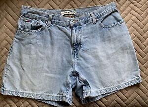 Vintage Tommy Hilfiger Boyfriend Shorts - Women's 30W Blue Jean