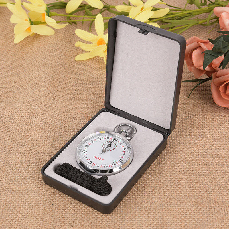 Mechanical Stopwatch Sports Chronograph Running Timer Handheld Stopwatch GD