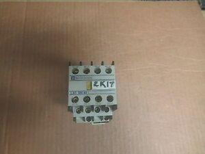 TELEMECANIQUE-CONTACTOR-LP1D12-10-25A-A-AMP-24V-COIL-LP1D1210-w-LA1-DN-40