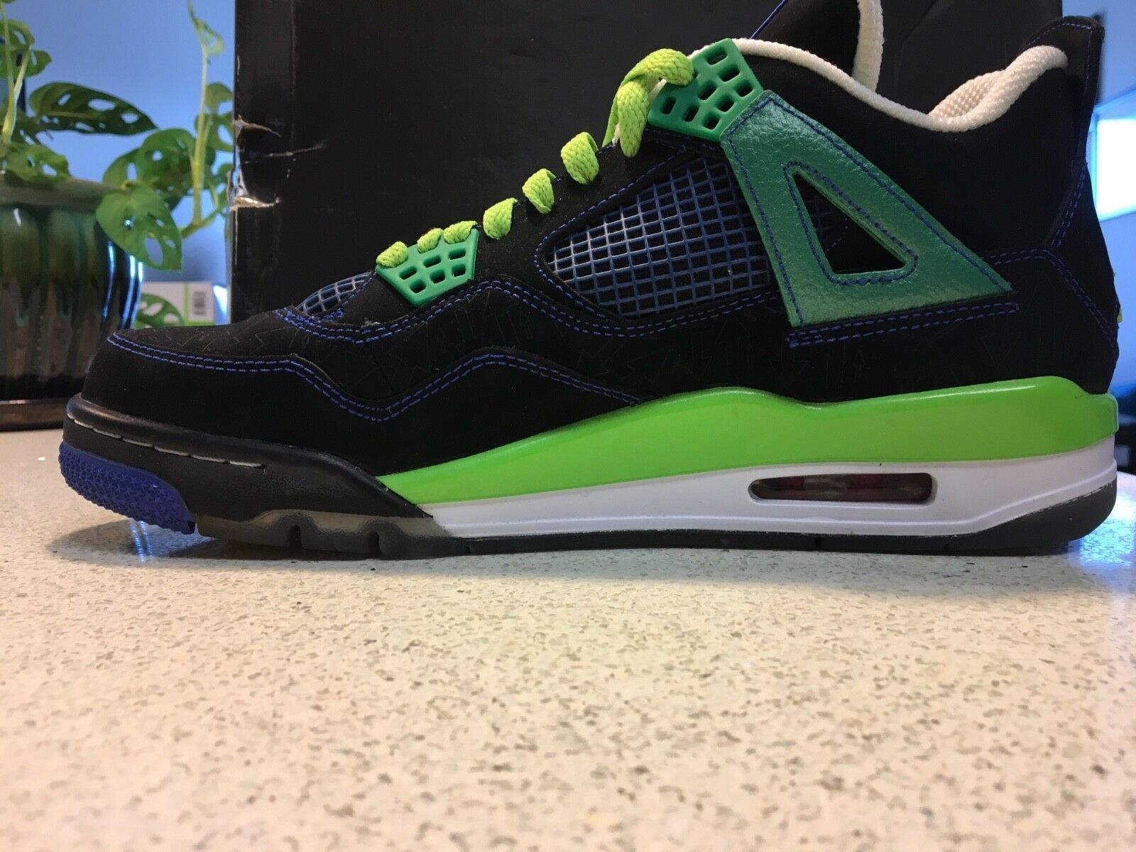 DS Air Jordan 4 IV retro Doernbecher DB sz9.5 w/OG Box superman logo