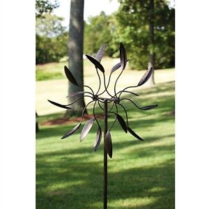 Wind Outdoor Spinner Garden Yard Metal Decor Art Kinetic