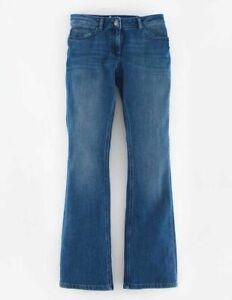 Boden-Mid-Rise-Slim-Flare-Jeans-Hose-Damenjeans-Bootcut-NEU-UK-10-EU-38