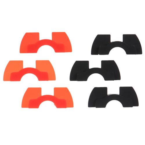 3x Elektroschwingungsdämpfer Kissen Gummi Roller Anti Slack Für Xiaomi M365 ~ WK