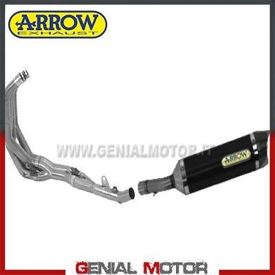Aufstrebend Komplett Auspuff Arrow Street Thunder Akn Alum Schw Honda Cbr 600 F 2011 > 2013