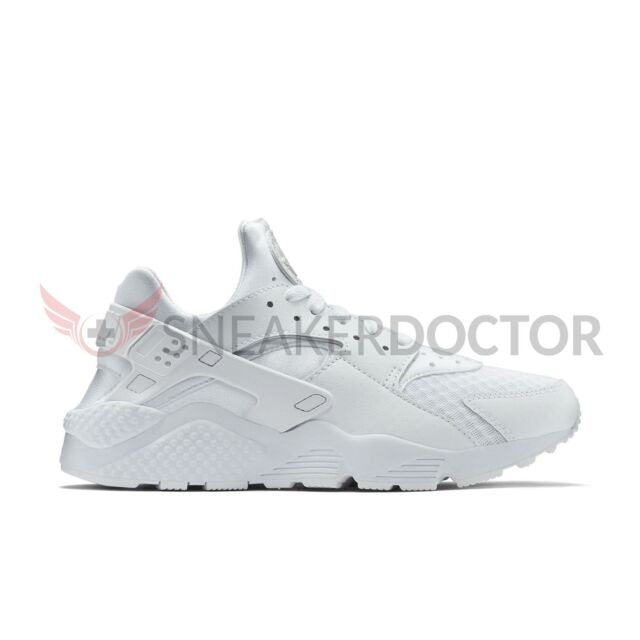 detailed look 54ef5 190e4 New Nike Mens Huarache Running Shoes White White-Pure Platinum All Sizes