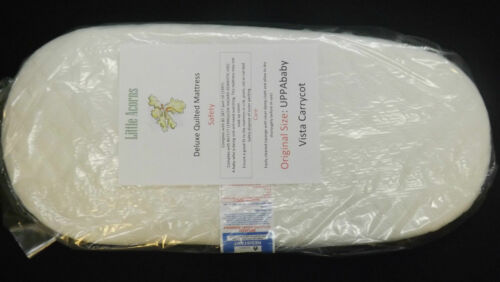 REPLACEMENT ICANDY APPLE CARRYCOT QUILTED MATTRESS BREATHABLE