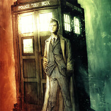 DOCTOR WHO Signed ART PRINT Ben Templesmith DAVID TENNANT Tenth Doctor 17x11 NEW