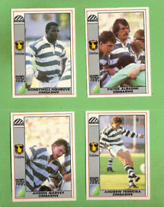 Image Is Loading D557 1991 RUGBY UNION WORLD CUP CARDS ZIMBABWE