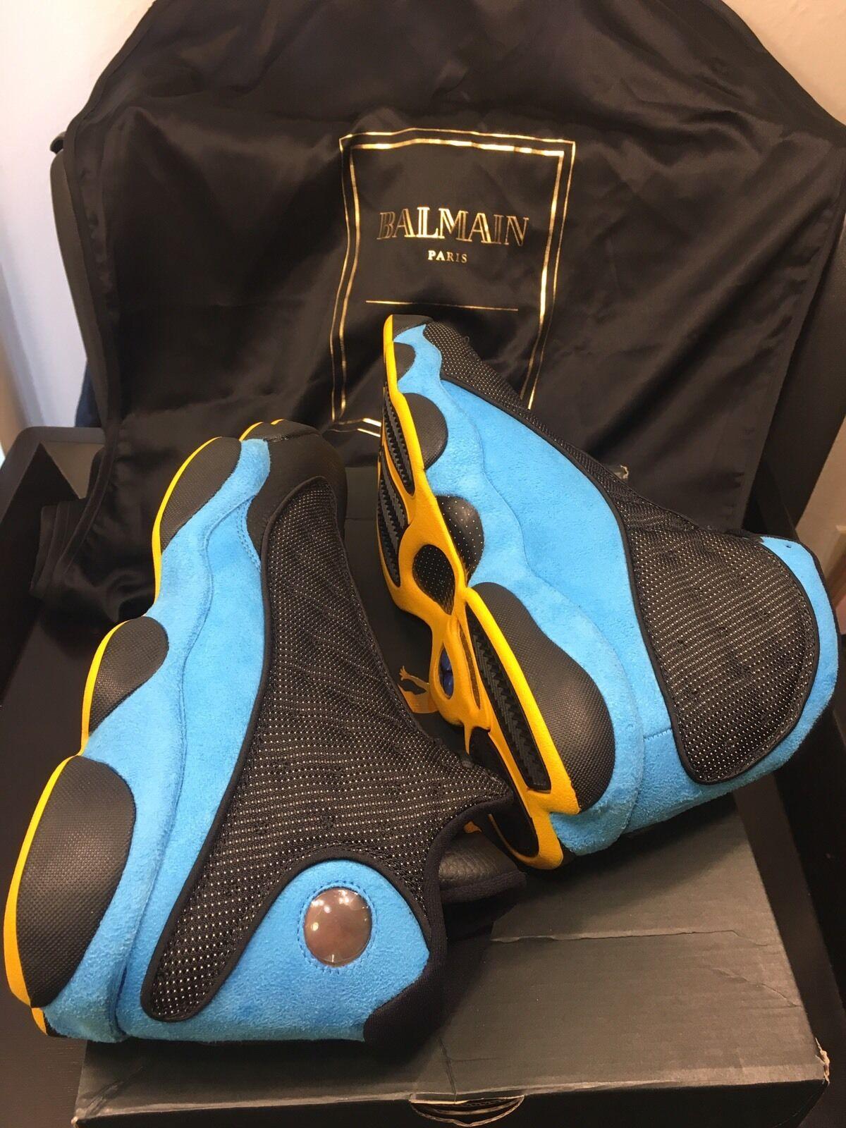 Nike Air Jordan 13 XIII retro CP3 PE Chris Paul Azul Negro Azul Paul away SZ 12 reduccion de precio descuento de la marca 3f45d6