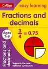 Collins Easy Learning KS2: Fractions and Decimals Ages 7-9 by Melissa Blackwood, Collins Easy Learning (Paperback, 2015)