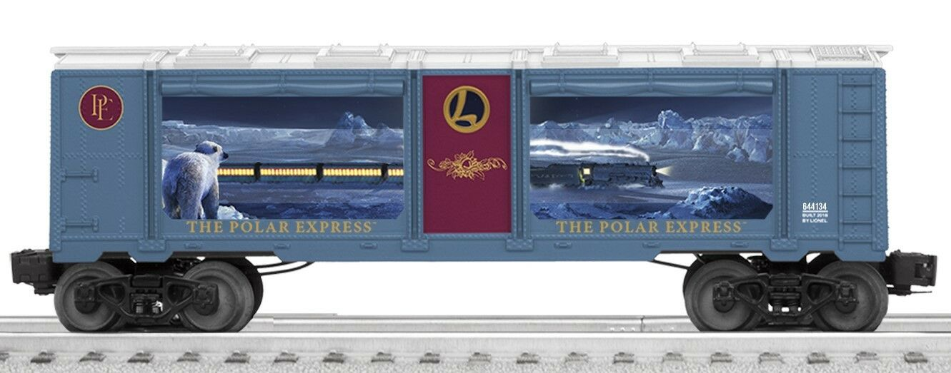Lionel American Flyer AF Polar Express Aquarium Car