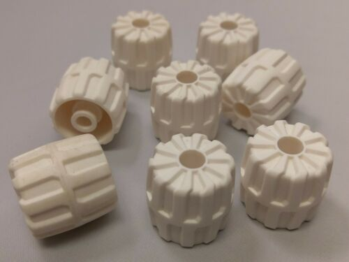 Wheel Hard Plastic,Small Bulk Lot Lego Part No.6118 x 24mm,Qty x 8 22mm D