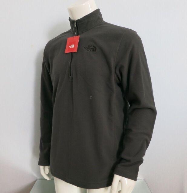 THE NORTH FACE Men/'s Glacier 1//4 Zip 100 WT Fleece Jacket TNF Black size S~XXL