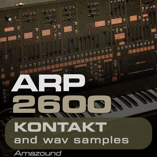 ARP 2600 SAMPLES for KONTAKT 370 NKI + 3000 WAV 3GB 24BIT MAC PC MPC LOGIC FL