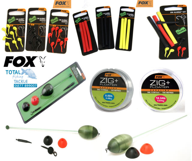 Fox NEW Carp Fishing Zig Rig Terminal Tackle *Complete Range*