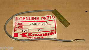 New Genuine Kawasaki Single Male Female Connector Harness Wire P/No. 26011-1070