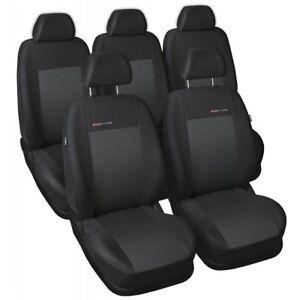 Ford Transit Connect II BUS 2013-2020 1+2 Front Maßgefertigt Maß Sitzbezüge  P1